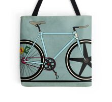 Fixie Bike Tote Bag