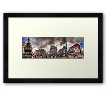 Piccadilly Panorama Framed Print