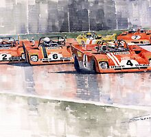 Ferrari 312 PB Sebring by Yuriy Shevchuk