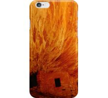 House on Fire Ruins iPhone Case/Skin