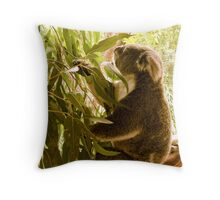 Lunch time! Throw Pillow
