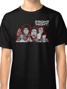 fright night character collage Classic T-Shirt