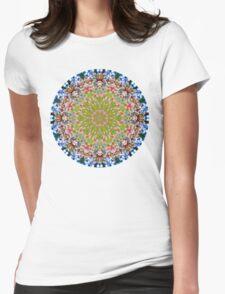 Branch of Prosperity Mandala Womens Fitted T-Shirt