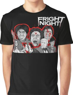 fright night character collage Graphic T-Shirt