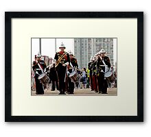 The Royal Marines at the London Olympics 2012 Framed Print