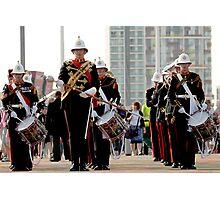 The Royal Marines at the London Olympics 2012 Photographic Print