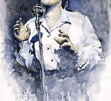 Jazz Billie Holiday Lady Sings The Blues  by Yuriy Shevchuk