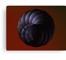 Double Spiral Lens' I Canvas Print