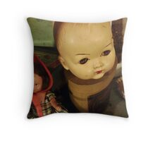 Demolition Dolls Throw Pillow