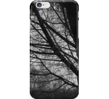 Scary Trees- Black Hill Native Pine iPhone Case/Skin