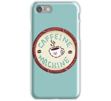 Caffeine Machine - Embroidery Patch Style iPhone Case/Skin