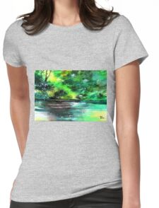 Deep 2 Womens Fitted T-Shirt