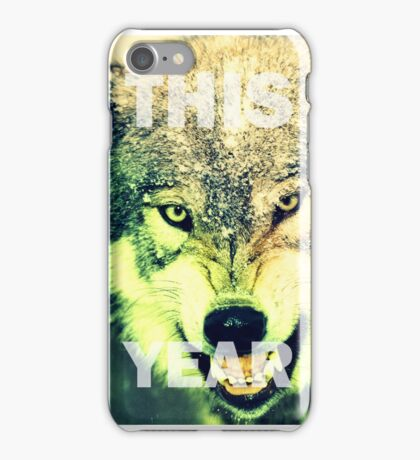 This Year iPhone Case/Skin