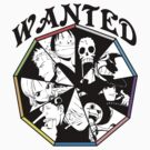 One Piece - Straw Hat Pirates Crew by Tarobeast