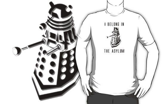 Dalek Asylum - I belong there. by spud-17