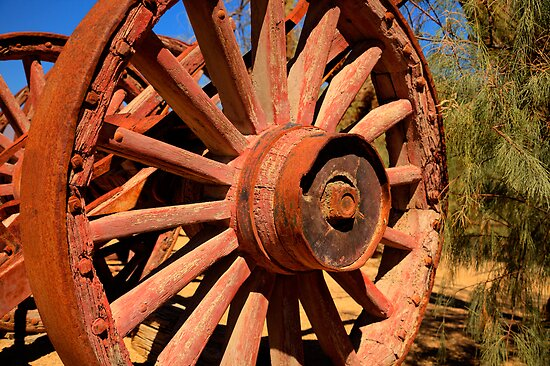 The Lumberjacks Wheel by Dale Lockwood