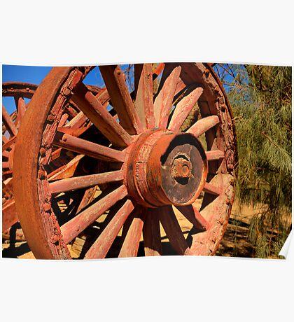 The Lumberjacks Wheel Poster