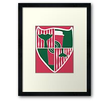 House of RedCup Framed Print