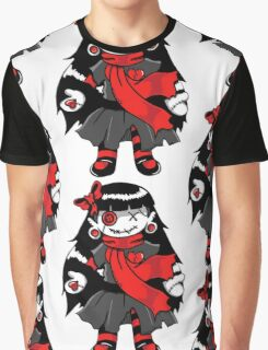 Rag Doll Red Graphic T-Shirt
