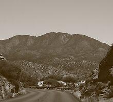 Winding Mountainous Road by Adam Kuehl