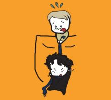 John & Sherlock - Pocket Babies by BegitaLarcos