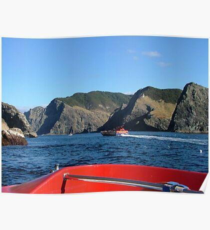 Cape Brett - Bay of Islands............! Poster