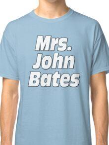 Mrs. John Bates Downton Abbey Classic T-Shirt