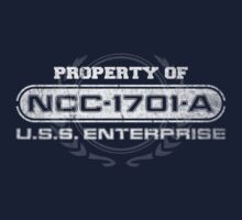Property Of USS Enterprise A (WG) by justinglen75