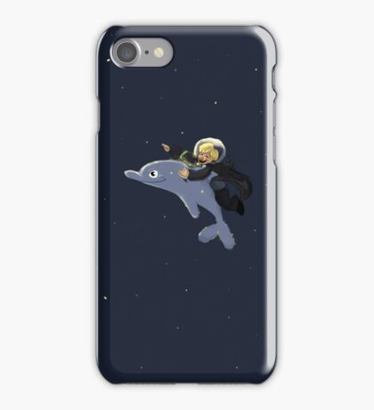 Dolphin Portkey iPhone Case/Skin