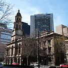 Adelaide Town Hall, King Wlm.Street, City. by Rita Blom