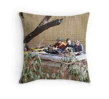 'THERE'S NOTHING HERE!' Every picture tells a story. Throw Pillow