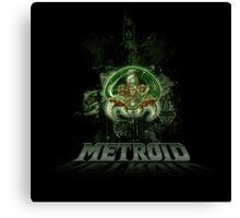 The Last Metroid Canvas Print