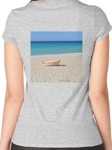 A BOAT Women's Fitted Scoop T-Shirt