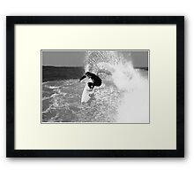 Sandon Slash Framed Print