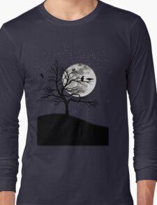 Raven tree Long Sleeve T-Shirt