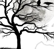Raven tree Sticker