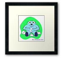 Baby Yeti Framed Print