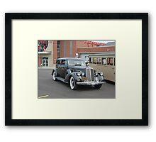 1936 Pierce-Arrow sedan Framed Print