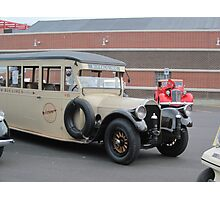 1919 Pierce-Arrow bus Photographic Print