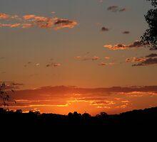 Sunset Over Elanora by aussiebushstick