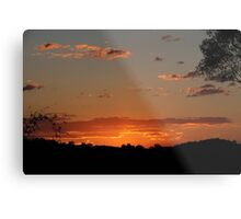 Sunset Over Elanora Metal Print