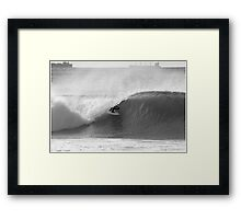 Slotted Framed Print