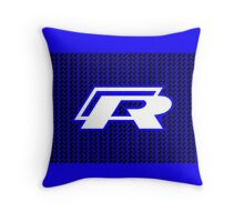 VW Golf R pattern Throw Pillow