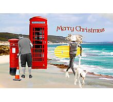 Phone home for Christmas Photographic Print