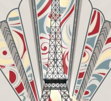 Paris, France - Travel Poster Sticker