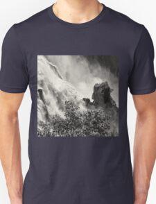 Rocks in the raging waters Unisex T-Shirt