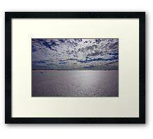 Desolate.. Framed Print