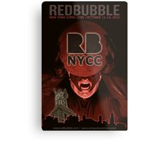 Redbubble invades NYCC Metal Print