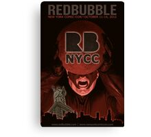 Redbubble invades NYCC Canvas Print