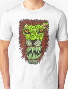 Monster Mondays #2 - Lionel Lion - Anger Monster! - Green T-Shirt